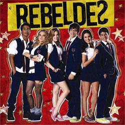 CD Banda Rebeldes Brasil (Trilha sonora oficial)