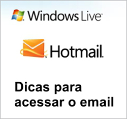 Não consigo entrar no email do Hotmail