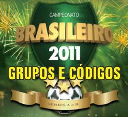 Grupos códigos álbum virtual brasileirão 2012