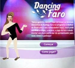 Dança do Rodrigo Faro – Jogo de vestir e dançar