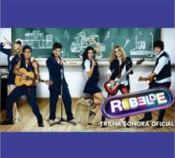 Trilha sonora músicas Rebelde CD
