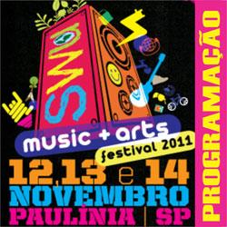 SWU 2011 - Programação das bandas e horários dos shows