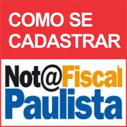 Cadastrar Nota Fiscal Paulista