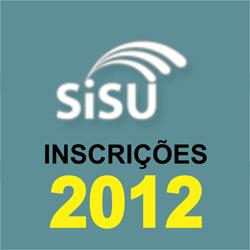 SiSU 2012 – Inscrições