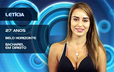 Letícia BBB 14