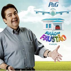 Promoção Avião do Faustão 4 P&G – 2012