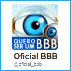 Twitter do BBB15 oficial