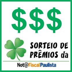Sorteios do Nota Fiscal Paulista