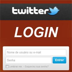 Twitter Login - Entrar