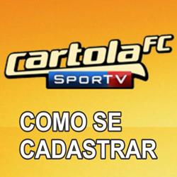 Cadastrar Cartola FC 2013