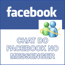 Chat do Facebook no MSN Messenger