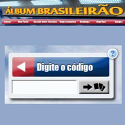 Códigos promocionais do álbum virtual do Brasileirão 2013