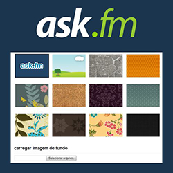 Background Ask.fm