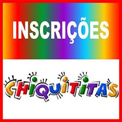 Inscrições Chiquititas 2013