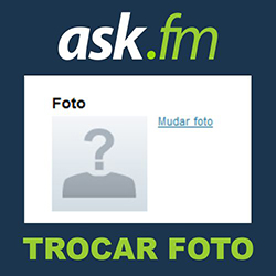 Como trocar a foto do ask.fm