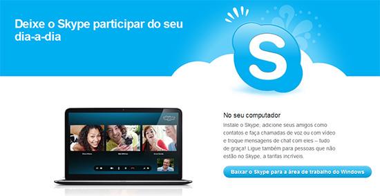 Baixar Skype Entrar