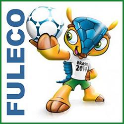 Fuleco é o nome do mascote da Copa de 2014 no Brasil