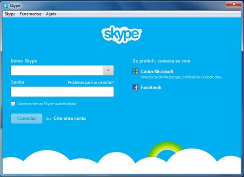 finalização instalar skype