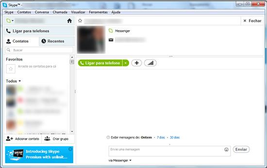 Tela Skype