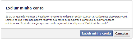 Excluir Facebook Definitivamente Sempre