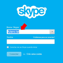 "Como apagar ""Nome Skype"" do login no computador"