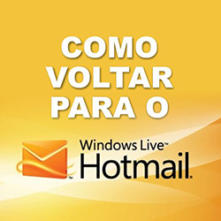 Sair do Outlook e retornar ao Hotmail antigo