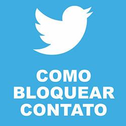 Como bloquear e desbloquear contato no Twitter