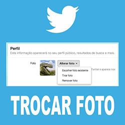 Trocar imagem Twitter