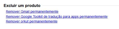Excluir Gmail permanentemente