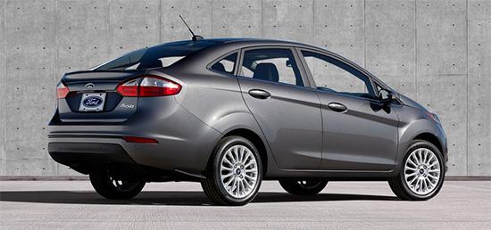 Novo (New) Ford Fiesta Sedan 2014 é lançado