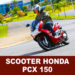 Scooter Honda PCX 150 2014 é destaque no mercado nacional de motos