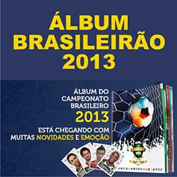 Panini lança álbum de figurinhas do Campeonato Brasileiro 2013