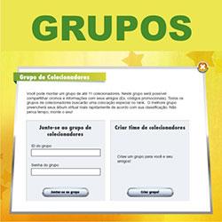Grupos para álbum virtual do Brasileirão 2014