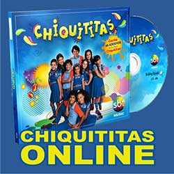 CD Chiquititas 2013 – Ouvir Trilha Sonora Volume 1