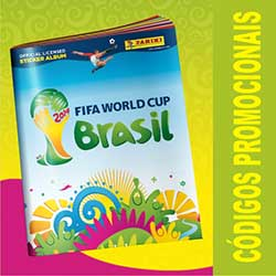 Códigos Promocionais do Álbum Virtual da Copa do Mundo 2014
